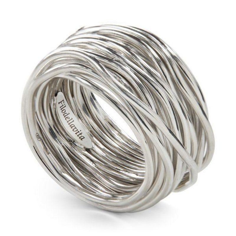 FIilodellavita-anello-Rock-Collection-22-Fili-in-argento-925/°°°