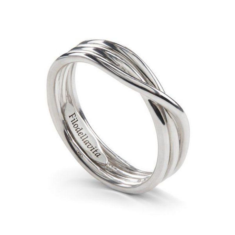 Filodellavita-anello-Rock-Collection-3-fili-argento-925/°°°